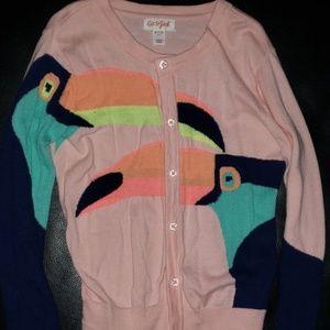 Girls Toucan sweater